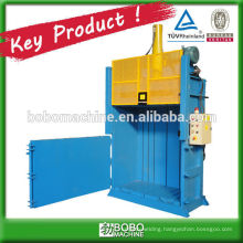 hydraulic vertial baler for loose material