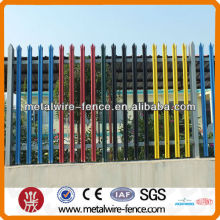 different types picket palisade fences