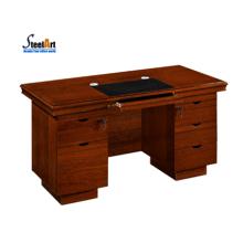 2018 Dernière conception de table de bureau Table d'ordinateur en bois
