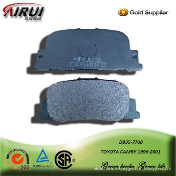 plaquette de frein semi-métallique pour toyota cmary 1996-2001