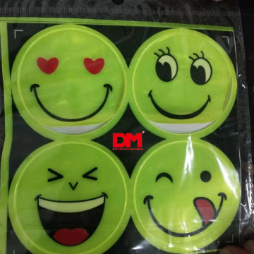 reflective sticker Item Name and yellow color reflective sticker EN13356