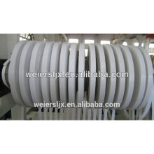 Кромкооблицовочный станок ПВХ кромки с горячего тиснения онлайн, ПВХ кромки полосы производственной линии три цвета печати