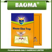 Cartão de papel da armadilha da cola do rato de Baoma