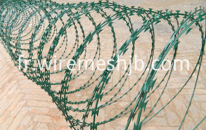 Galvanized Steel Razor Wire