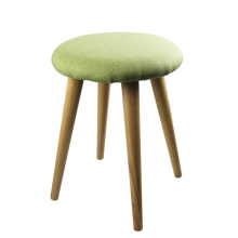 green round wood stools