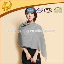 China-Fabrik 100% Kaschmir-einfacher Frauen-Schal weicher langer Stola-Schal-Dame Wrap Kaschmir-Schalldämpfer