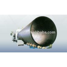 Fabrication de gros diamètre creux-mur tuyau enroulé de HDPE Production Line14
