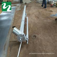 Auger pumping manure pumping manure septic tank biogas manure hoist