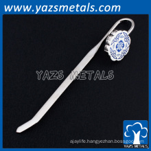 soft enamel metal custom poroelain bookmark