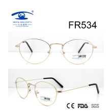 2017 Rundform Metall Optischer Rahmen (FR534)