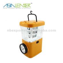 25 LED lanterna de camping elétrico