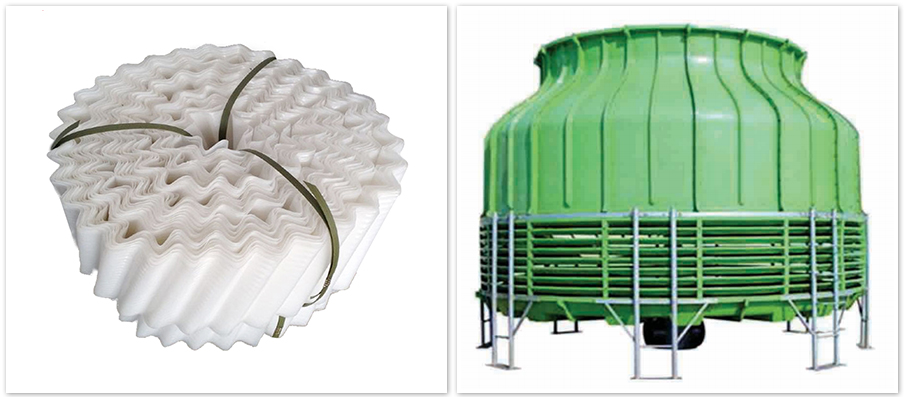 Round Cooling Tower Fill