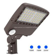 5000K Luces de calle LED Caja de zapatos Luces de poste de 200W