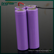 battery pack 18650 7.4v lithium