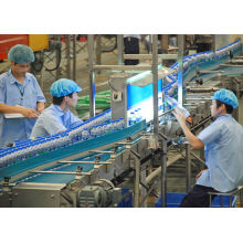 Water / Juice Pet Bottle Conveyor System For Bottle Quality Inspection 48,000 Bph China