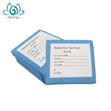 Bowie Dick Testpackung für Dampfsterilisationsanzeige