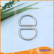 Tamaño interior 21mm Metal Hebillas, Regulador de metal, Metal D-Ring KR5067