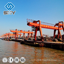 60 Tonnen-Portalkrane, Hafen-Ausrüstung, Fabrik-Kran-Herstellungsexperten-Produkte
