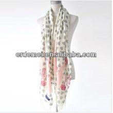 Печатный рекламный шарф из флиса