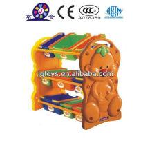 Prateleira de armazenamento de plástico cubo Hotsale para crianças
