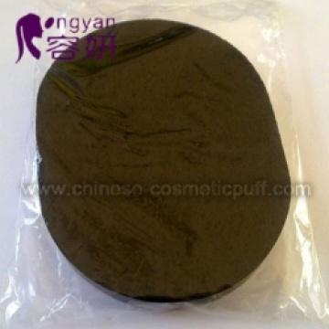 Schwarzer ovaler PVA-Schwamm
