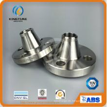 Brida forjada Wn del cuello de la soldadura del acero inoxidable con Ce (KT0281)
