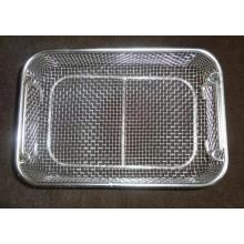 Cesta de metal para decapagem esterilizante