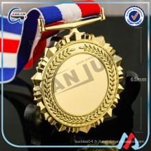 Médaille en blanc 3d personnalisée (HP-10)