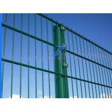 Двойной провод безопасности Загородка ячеистой сети сделаны на заводе