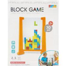70PCS Transparent Tetris Block Game
