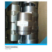A105n Forged Steel Male Screw Threaded Hexagon Nipple
