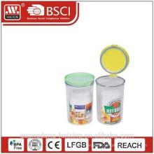 Cilindro redondo, produto plástico