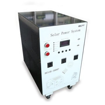 Mobile Home 1000W dengan Battery Solar Power System