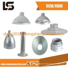 Acessórios de fundição em alumínio para iluminação arquitetônica