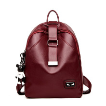 Wholesale mochila de couro genuíno para a menina