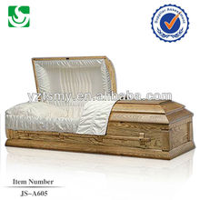 classic cloth covered casket