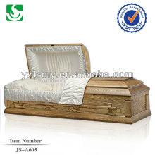 caixão coberto de pano clássico