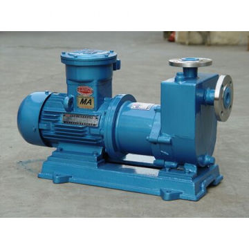 Stainless steel self-priming chemical magnetic pump