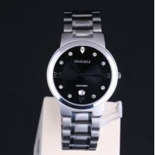 Sapphire Men Quartz Watches Stainless Steel Silver
