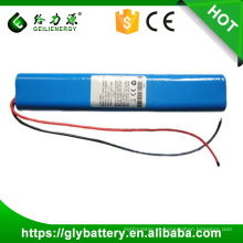 Bloco da bateria do lítio 18650 de 12v 10000mAh 10.4Ah