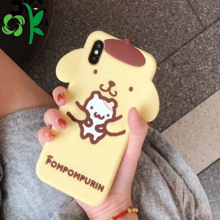 Cartoon Silicone Iphone Cases