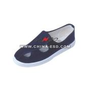 ESD 4 hoyos zapatos de lona