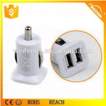 Latest Design 2 Port Dual USB Car Charger 2.1A--C07