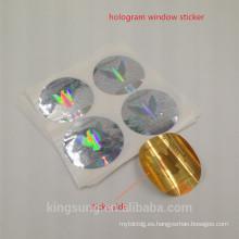 etiqueta engomada del holograma de alta calidad impresa logotipo de Shanghai