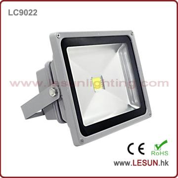 Luces de inundación de plata IP65 20W LED para la iluminación al aire libre LC9022