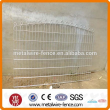 pvc-coated double wire fence