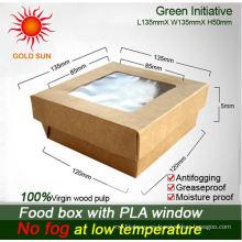 Cajas de empaquetado de papel para comida y pastel