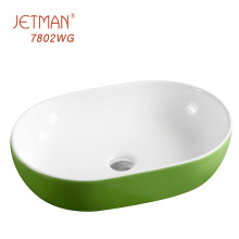 Commercial Bathroom Colored Toilet Kitchen Bath Basin Modern Vanity Sink