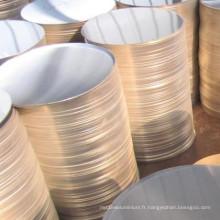 Feuille de cercle en aluminium 3003 O