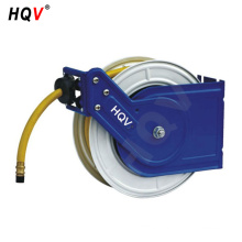 A18 Wall Truck Mounted Retractable Metal Air Hose Reel Rubber 300 PSI